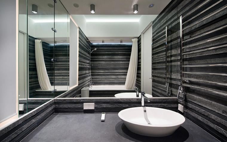 Квартира. ванная из проекта , фото №32690