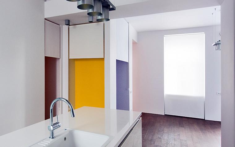 Квартира. кухня из проекта , фото №32691