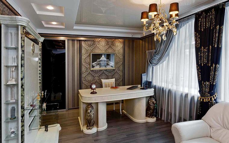 Квартира. кабинет из проекта , фото №32709