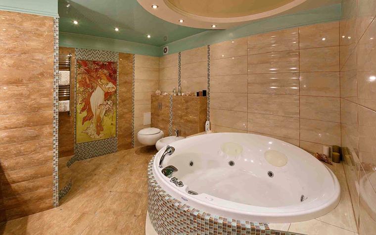 Квартира. ванная из проекта , фото №32704