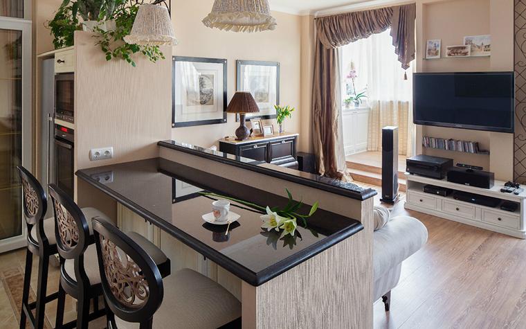 интерьер гостиной - фото № 32732