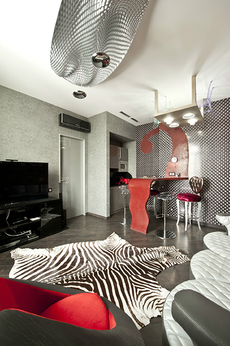 Квартира. гостиная из проекта , фото №33100