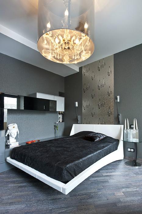 Квартира. спальня из проекта , фото №33101