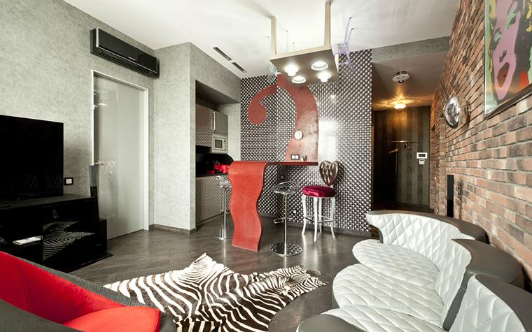 Квартира. гостиная из проекта , фото №33097