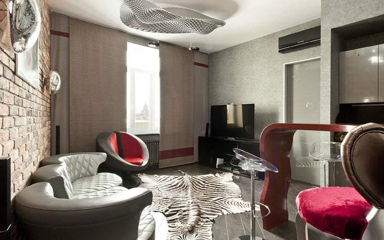Квартира. гостиная из проекта , фото №33099
