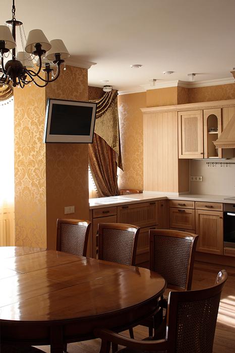 Квартира. столовая из проекта , фото №33150