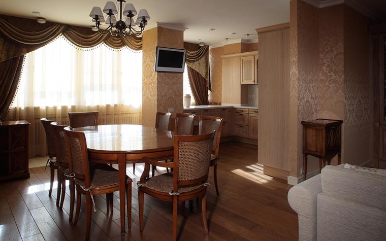 Квартира. столовая из проекта , фото №33151