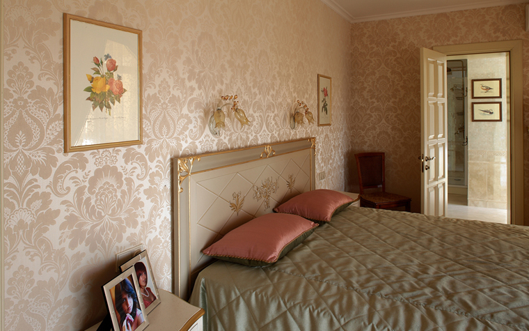 интерьер спальни - фото № 33152