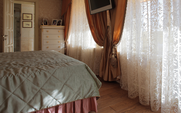интерьер спальни - фото № 33153