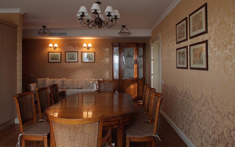 Квартира. столовая из проекта , фото №33146