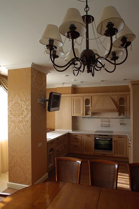 Квартира. столовая из проекта , фото №33149