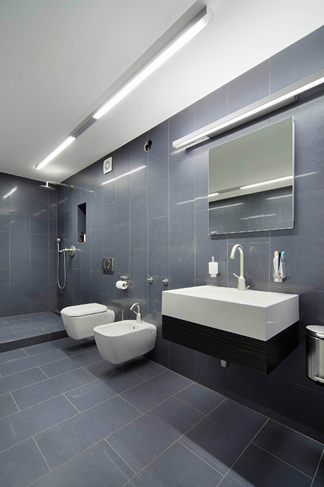 Квартира. ванная из проекта , фото №33258