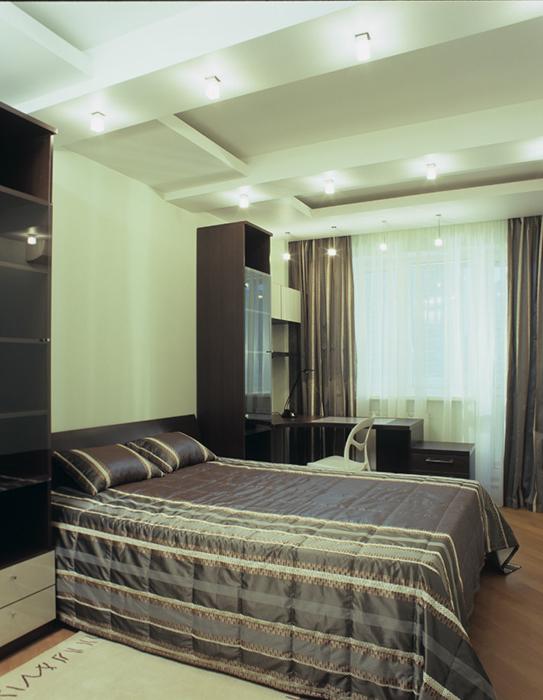 интерьер спальни - фото № 33280