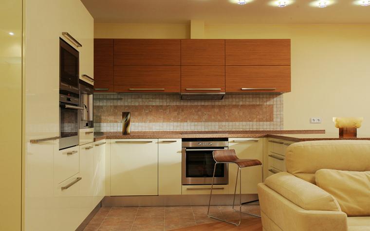 Фото № 33273 кухня  Квартира