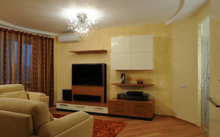 интерьер гостиной - фото № 33271