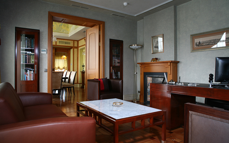 Фото № 33312 кабинет библиотека  Квартира