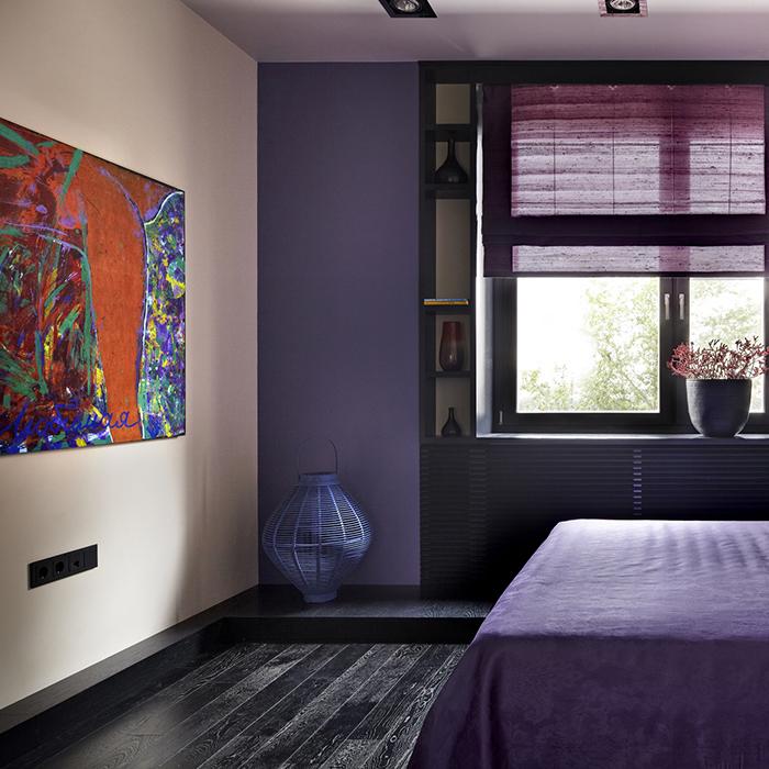 Квартира. спальня из проекта , фото №33399