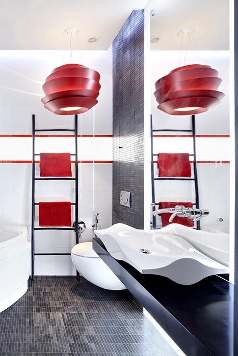 Квартира. ванная из проекта , фото №33406