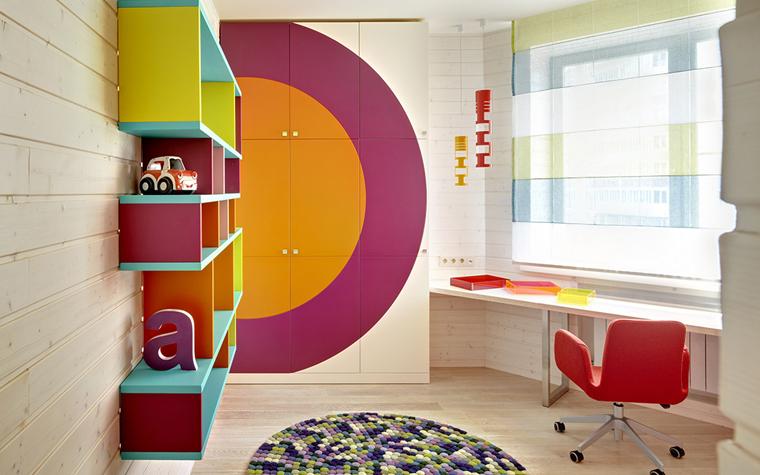 Квартира. детская из проекта , фото №33397