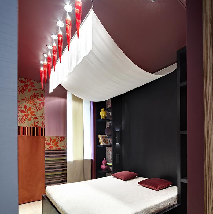 Квартира. спальня из проекта , фото №33405