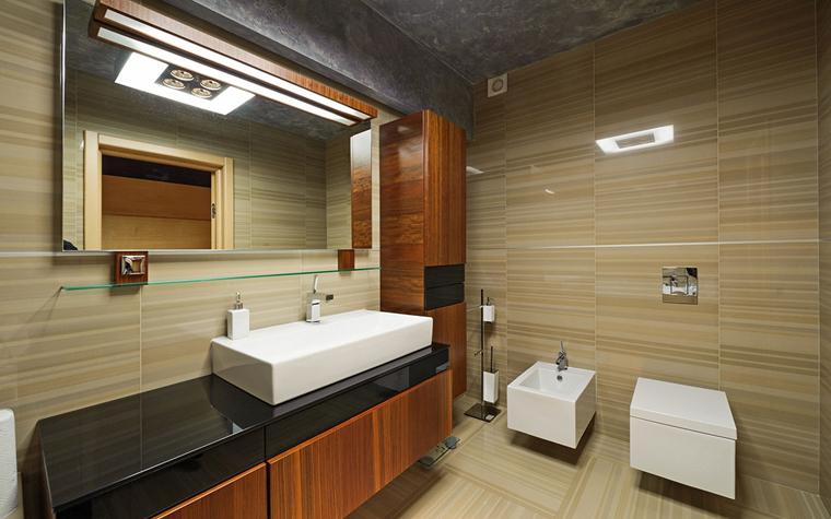 Квартира. ванная из проекта , фото №33436