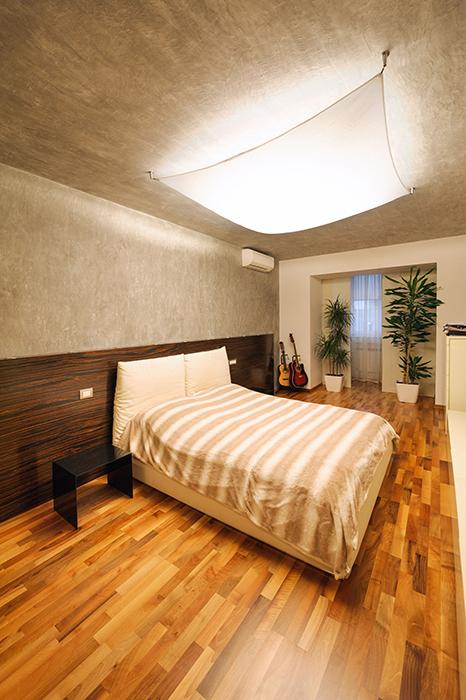 Квартира. спальня из проекта , фото №33434