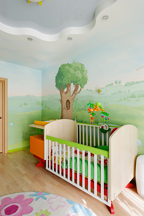 Квартира. детская из проекта , фото №33426