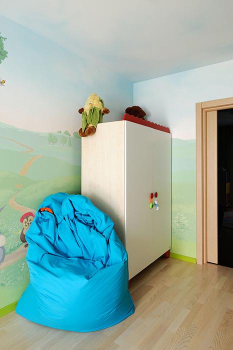 Квартира. детская из проекта , фото №33427