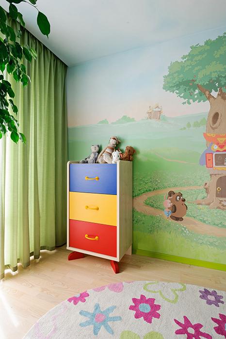 Квартира. детская из проекта , фото №33428