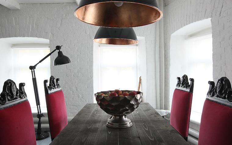Квартира. столовая из проекта , фото №33453