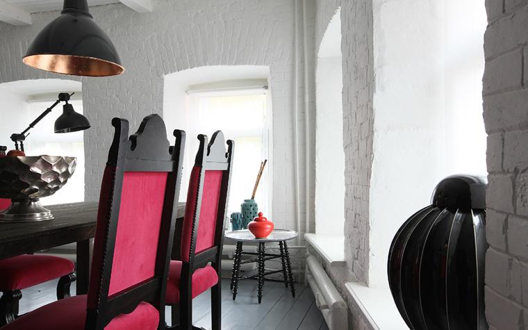 Квартира. столовая из проекта , фото №33454
