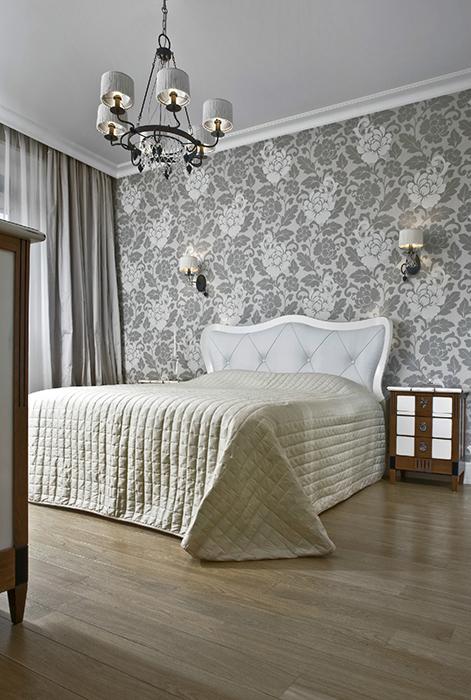 интерьер спальни - фото № 33471
