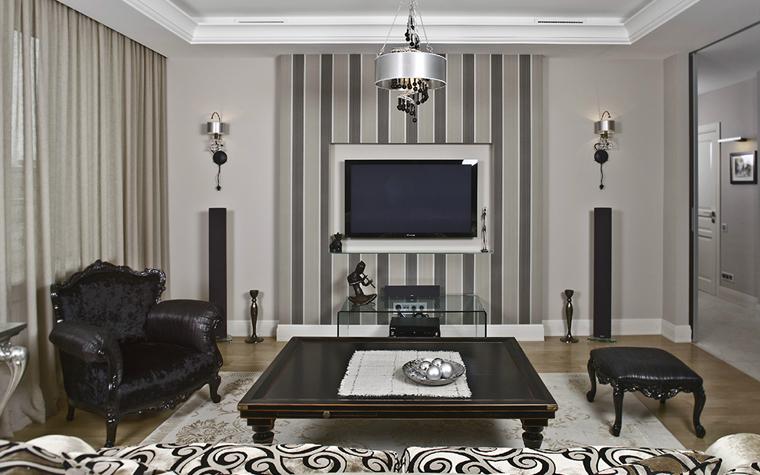 интерьер гостиной - фото № 33466