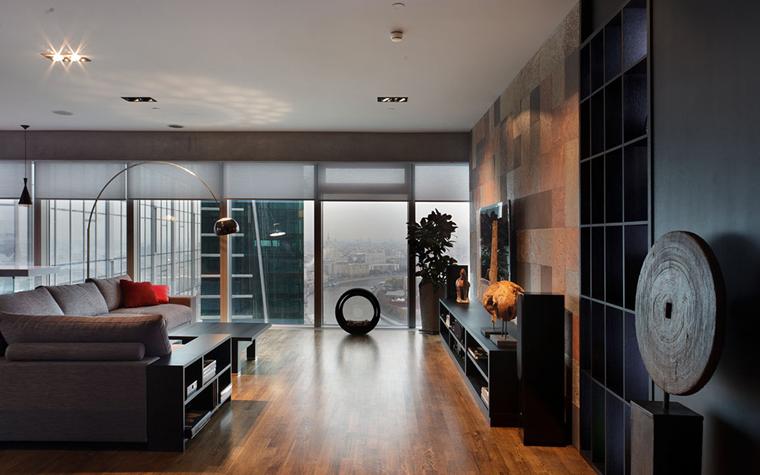 Квартира. гостиная из проекта , фото №33505
