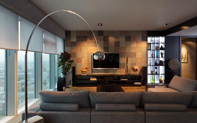 интерьер гостиной - фото № 33507