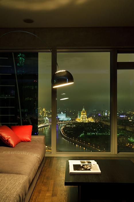 интерьер гостиной - фото № 33509