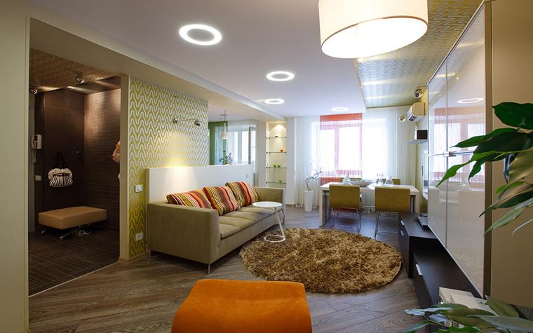интерьер гостиной - фото № 33515