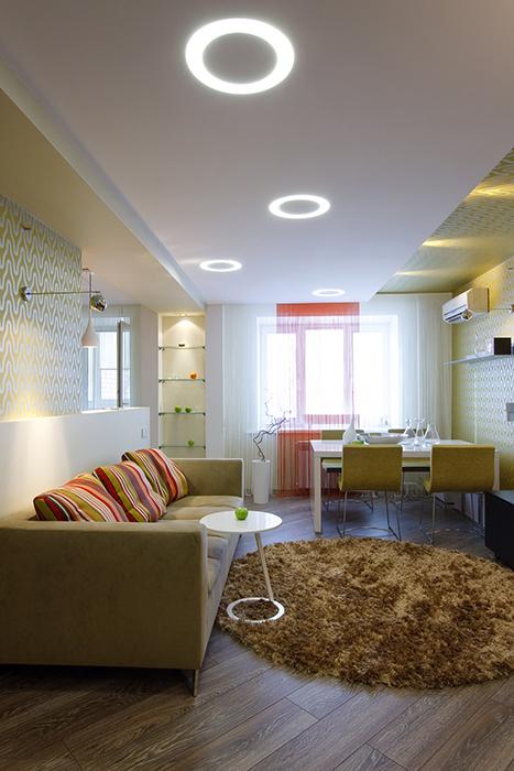 интерьер гостиной - фото № 33516