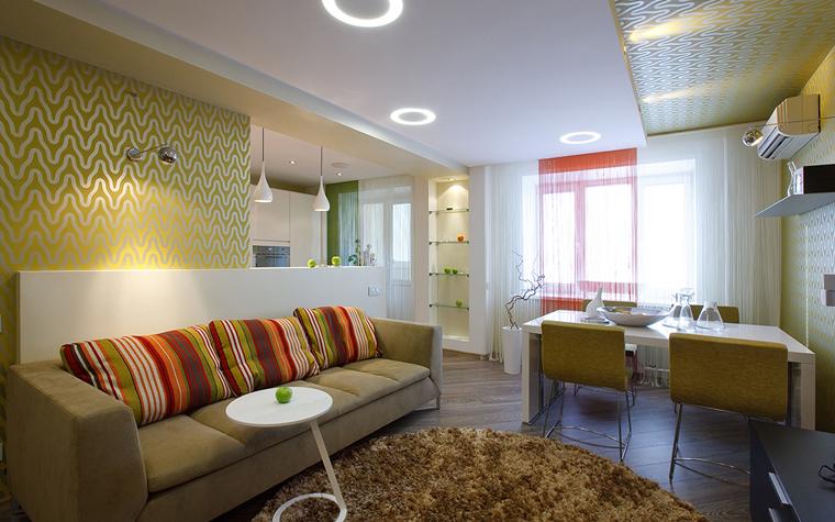 интерьер гостиной - фото № 33517