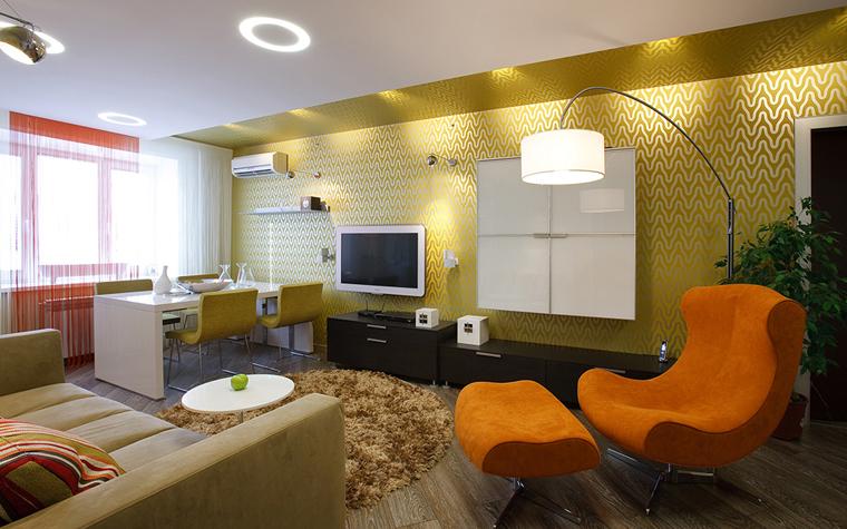 интерьер гостиной - фото № 33518