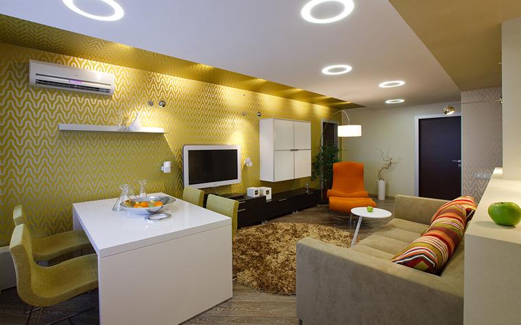 интерьер гостиной - фото № 33519