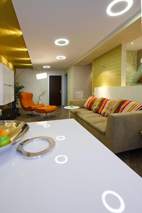 интерьер гостиной - фото № 33520