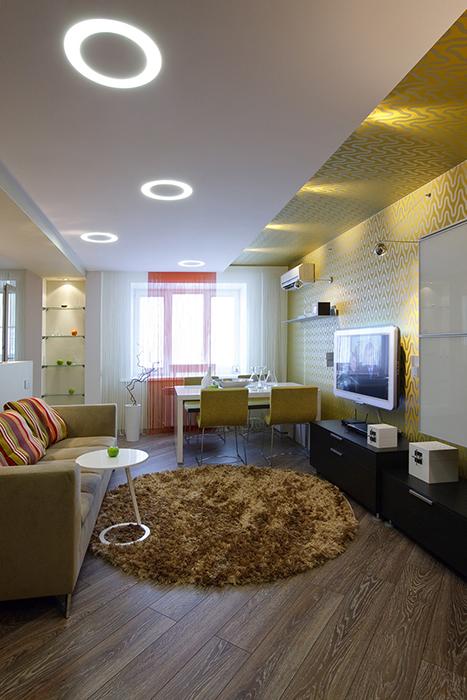 интерьер гостиной - фото № 33521