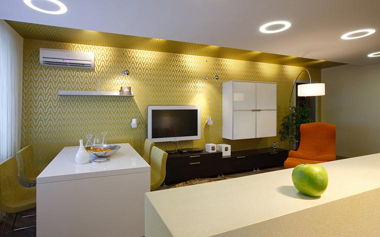 интерьер гостиной - фото № 33524
