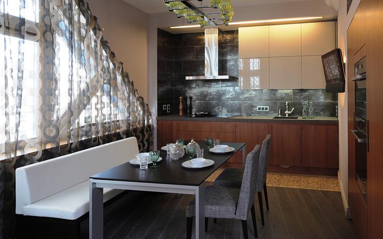 Квартира. кухня из проекта , фото №33555