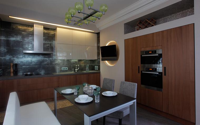 Квартира. кухня из проекта , фото №33556