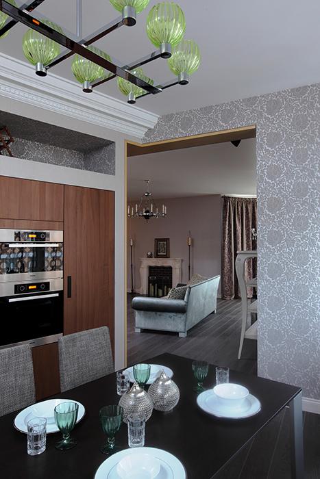 Квартира. кухня из проекта , фото №33557