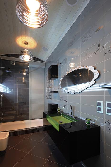 Квартира. ванная из проекта , фото №33560