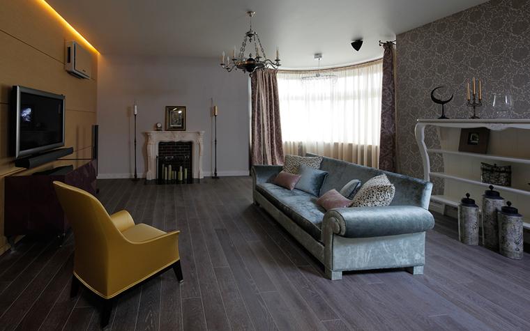 Квартира. гостиная из проекта , фото №33553