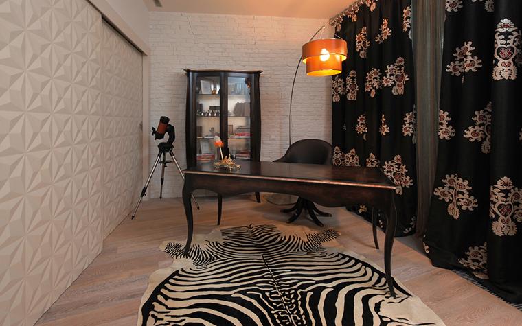 Квартира. кабинет из проекта , фото №33558